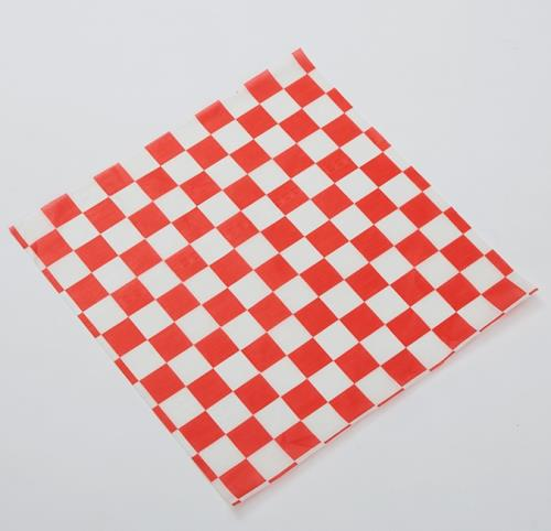 12X12 CHECK RED PAPER