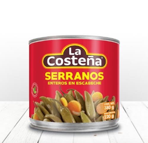 CHILE SERRANO