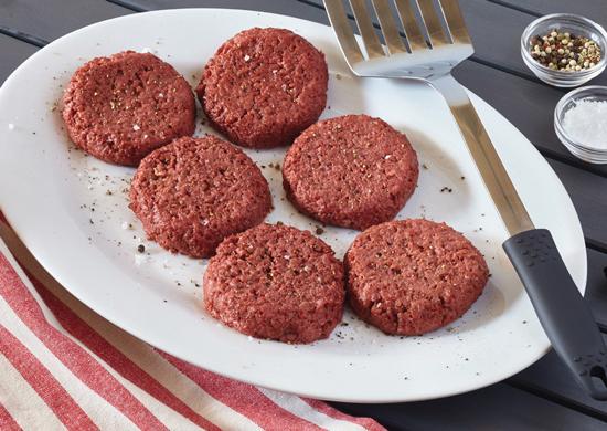 Hamburger surgelati vegetariani