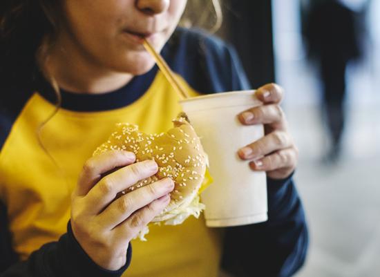 Burger fast food