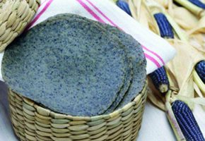 Soft Blue Corn Tortillas