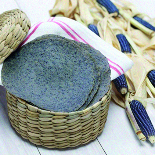 SOFT BLUE CORN TORTILLAS