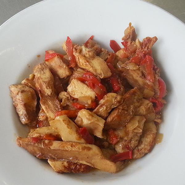 Fajita di pollo