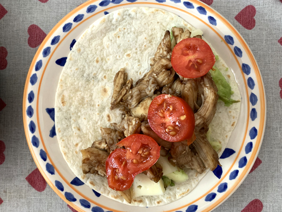 Tortillas messicane - Pulled chicken