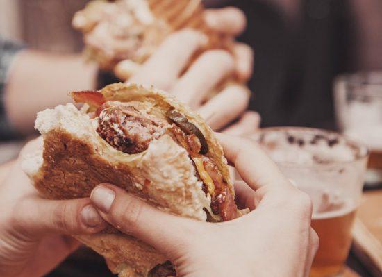 Pane per hamburger