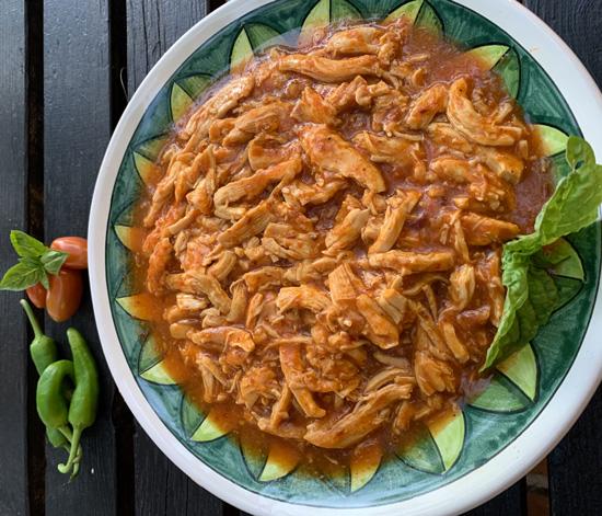 Tinga de pollo - Ricette messicane
