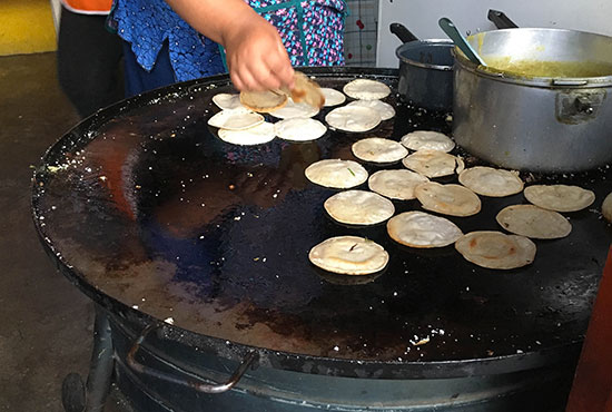 Tortillas vegetariana