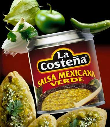 Salsa messicana verde