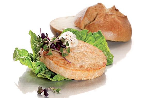 Salmon burger di Fine Food Group