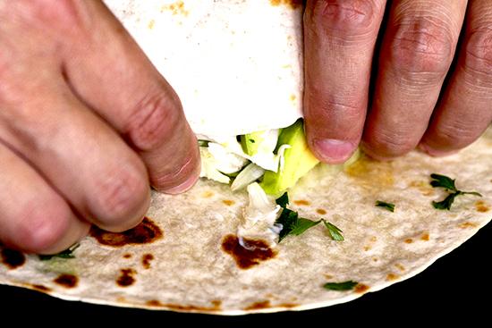 Piega dei burritos