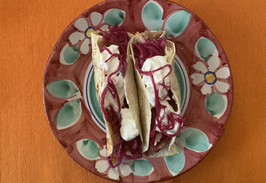 Tortilla Red Cabbage