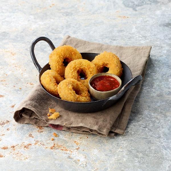 Mozzarella Onion Rings
