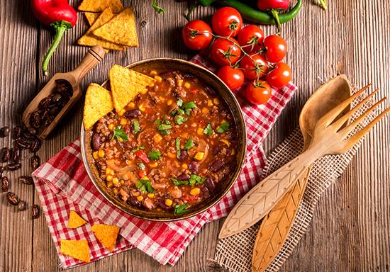 Fagioli nel Chili con Carne