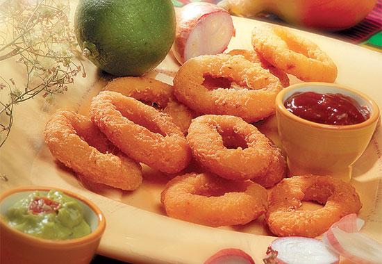 Preformed Onion Rings