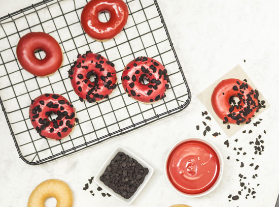 Donuts Red Cookies