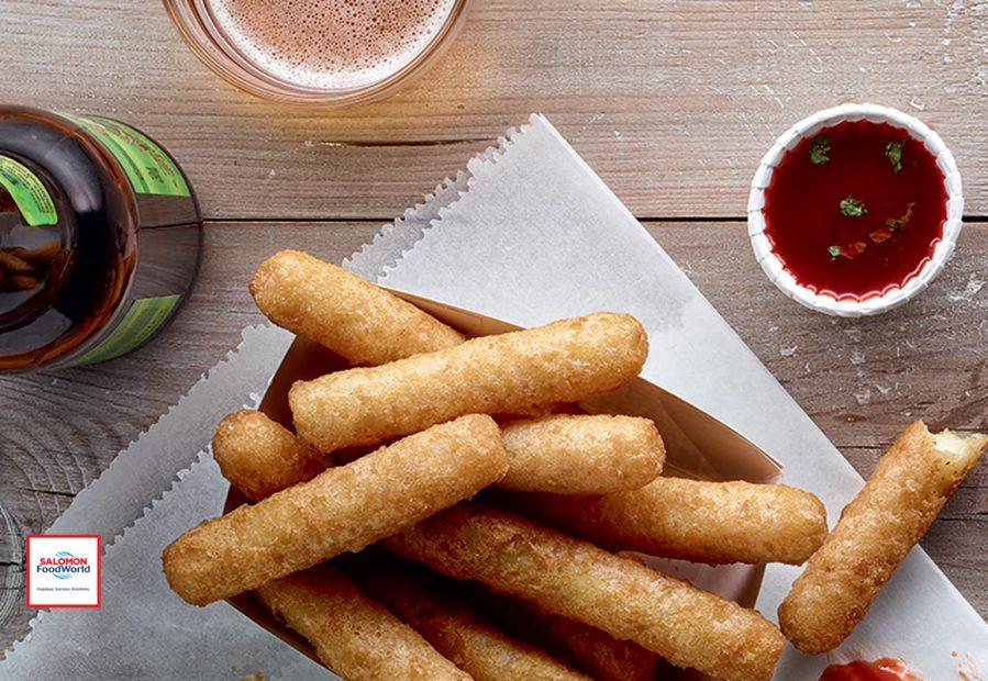 Mozzarella Sticks, i migliori bastoncini di mozzarella