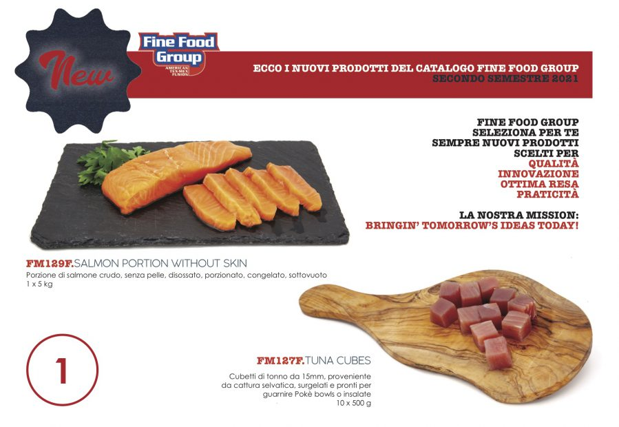 Prodotti Pesce - Fine Food Group