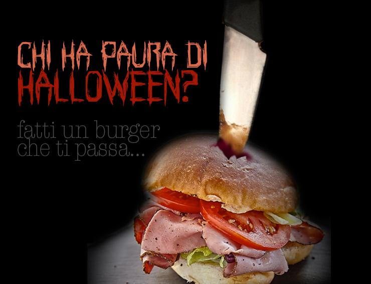 Halloween - Pane nero per burger gourmet